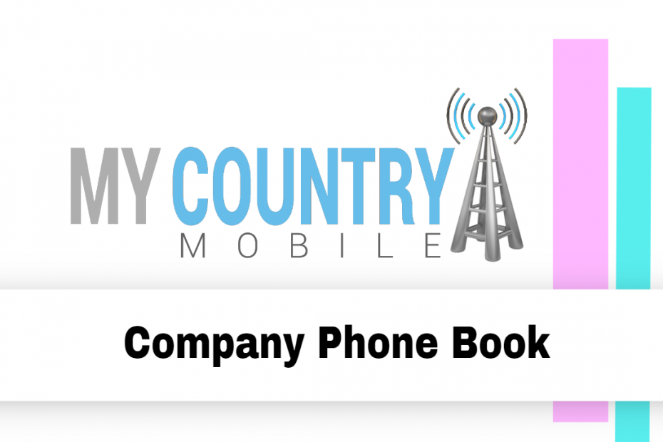 Company Phone Book - My Country Mobile